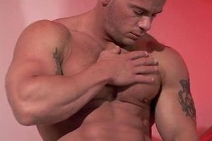 Damon Danilo jacking off dick