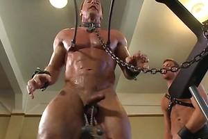 Derek Pain endures the Torturous BDSM Workout