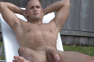 """Surfer Austin is Back, Jerking off his 10"""" MONSTER COCK in Hawaii!"""