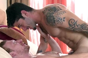 When Johnny Hazzard takes advantage of the hottest new mobile app, GuyFinder, red headed hottie Danny Harper hooks up for some super hot ass eating, 69ing hardcore fun.